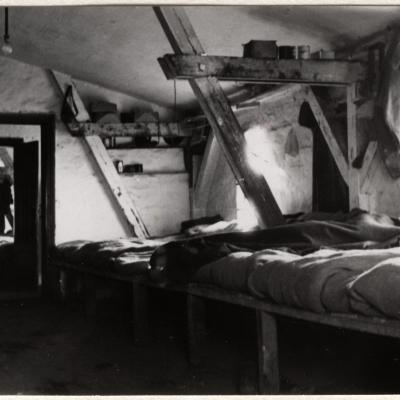 ©ICRC/1940.11.22/War 1939-1945. Schubin. Stalag XXI B, prisoners of war camp. Dormitory/ICRC Photo Library V-P-HIST-01584-30A